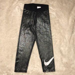 Nike Pro Sparkle Crop Leggings